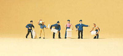 N Scale People - 79016 - Delivery Men with Loads