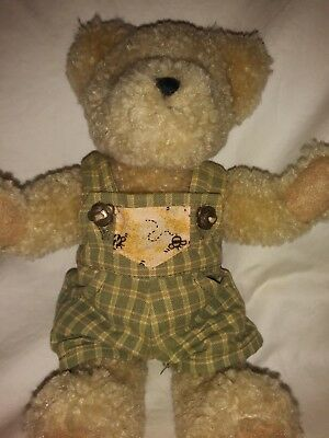 Boyds Bear Best Dressed Biddle Beezley Head Bean Hand Stitched Jointed Bee Teddy