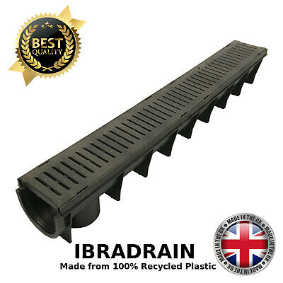 Plastic Drainage Channels for Driveways Linear Aco Drain Channel UK IBRADRAIN