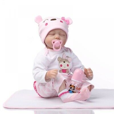Mini Cute Simulation Baby Toy in Hippo Pattern Clothes Pink Kids Children Gift