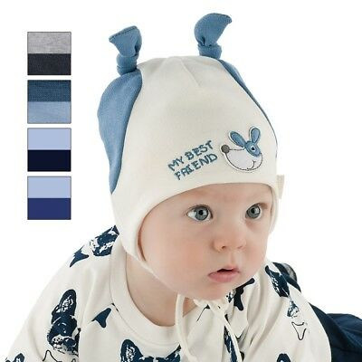 Brand New Soft Cotton Warm Autumn/spring Tied Hat For Boy/baby/toddler