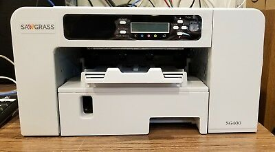 Sawgrass Virtuoso SG400 Complete Sublimation Printer -AS IS-