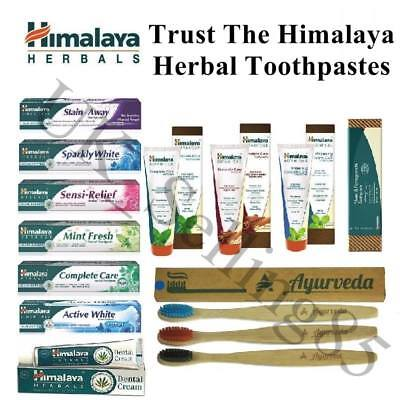 HIMALAYA Dentifricio Choose and Trust Your HERBAL Toothpaste 75ml - 150ml
