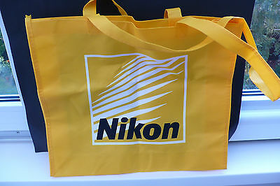 Nikon Reklame Kamera Fotoapparat Tasche Beutel Camera Advertising Bag !!!!!!!