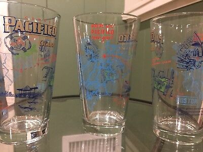 Pacifico Pint Glasses (boston)