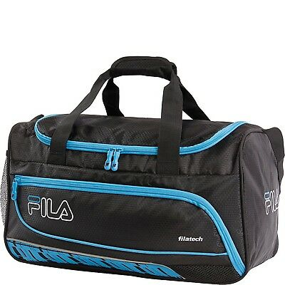 a6e2b6f4e7 FILA FASTPACE SMALL Sports Duffel Bag Gym Bag Black Red -  33.47 ...