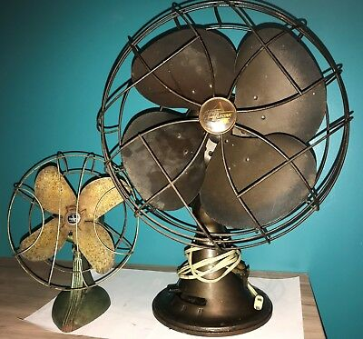 Emerson Electric 77646-AS 3-Speed Oscillating & Sterling Type Asus Art Deco Fans