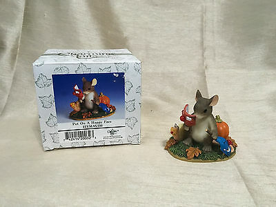 """Charming Tails """"Put On A Happy Face"""" 85/100 Fritz & Floyd Dean Griff Halloween"""