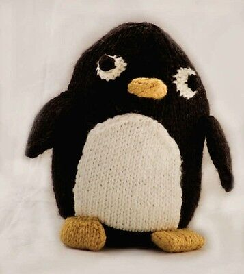 Pingu Penguin Toy Knitting Pattern 120 Picclick Uk