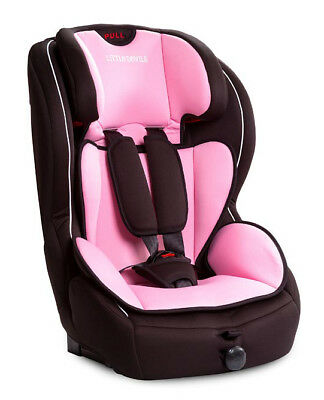 Big Bear Isofix Car Seat In Pink - With Top Tether - Group 1 2 3 (9Kg-36Kg)