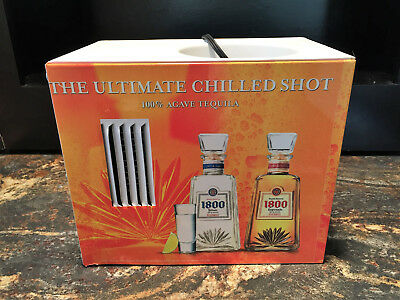 1800 Agave Tequila Electric Shot Chiller Dispenser Machine. New In Opened Box