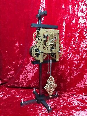 Clock Movement Test Repair Stand - Made in U.S.A -.WILL NOT MAR BRASS PLATES