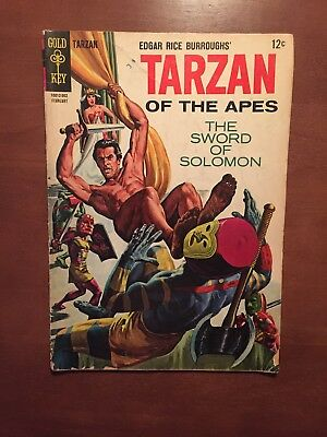 Tarzan #148 (1965) 4.0 GD Gold Key Comics Silver Age Key Issue Russ Manning