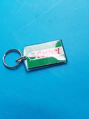 Vintage 1960 Advertising Castrol Oil Key Chain