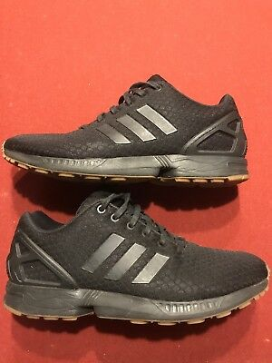 166bad927 Adidas Originals ZX Flux Men s Running Shoes black Sz 11