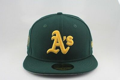 premium selection c1f45 b2fad OAKLAND ATHLETICS NEW Era 59Fifty Fitted Hat Custom Side Hit -  15.00    PicClick