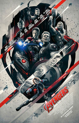 "Avengers - Age of Utron ( 11"" x 17"" )    Movie Collector's Poster Print"