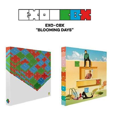 EXO-CBX 2nd Mini Album [Blooming Days] Random Ver. CD+Photobook+Photocard Sticke