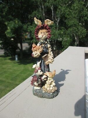 """Boyds, Folkstone Collection: """"The Challenge"""",  #28402, 1998 Retired, NO BOX"""