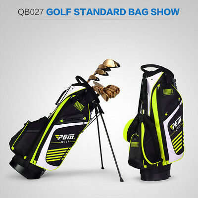 New Golf Bag with Stand 14 Sockets Multi Pockets Outdoor Sport Shouder Strap