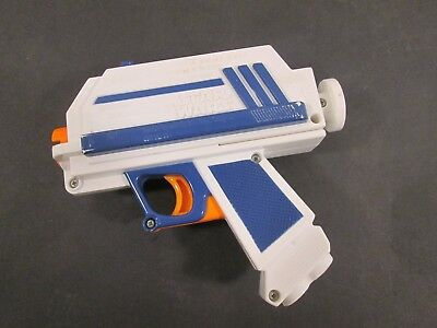 NERF Star Wars Captain Rex Blaster The Clone Wars Blue White 2010 TESTED