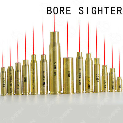 Hunting 17 Types Red Dot Laser Sight BoreSighter Cartridge Rifle Scope Tools