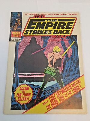Star Wars Weekly, The Empire Strikes Back, No 130 August 21st 1980 Marvel Comics