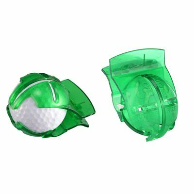 1pc Golf Ball Line Liner Marker Template Drawing Mark Alignment Putting Tool TU