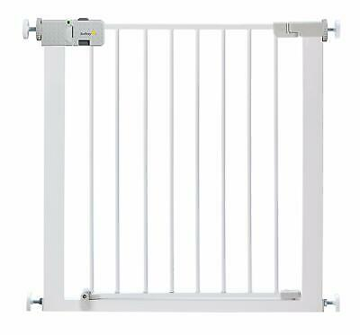 Safety 1st Secure Tech Simply Close Child Baby Metal Gate - White