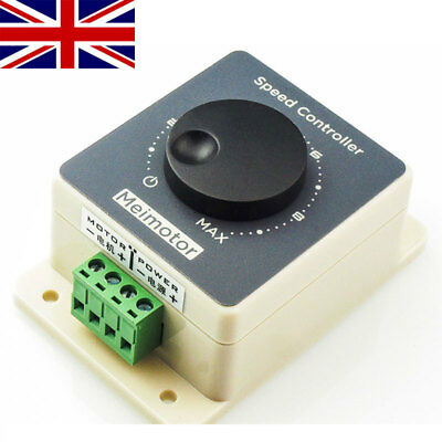 DC Motor Speed Controller 10-60V Pulse Width Modulator PWM Speed Controller UK