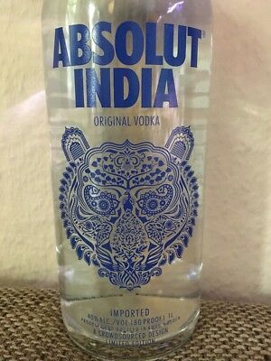 Absolut Vodka India Neu Sonderedition V2 1L
