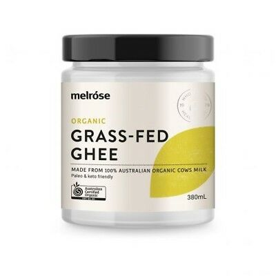 MELROSE Organic Grass Fed Ghee 380ml