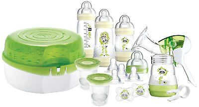 Mam Babies Bottle Steriliser Set / Accessories + Breastfeeding Pump - New