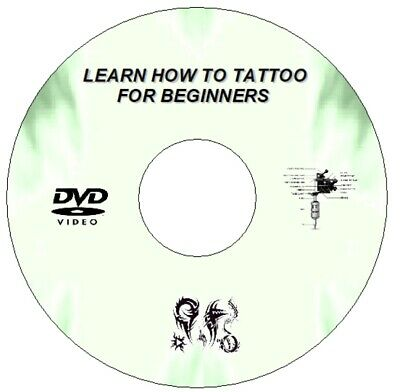 New Learn How To Tattoo Guide Step By Step Lessons For Beginners Dvd
