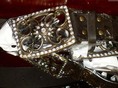 Joblot Of Beautiful Wide Small Belts With Diamante Buckle Pack Of 10