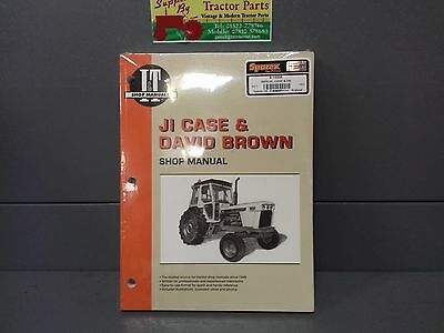 Ji Case David Brown 780-1412 Tractor Work Shop Manual