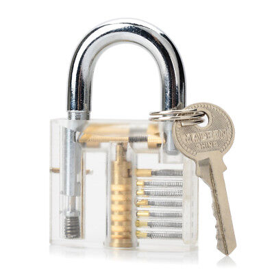 ZH-0121 Inside-View Pick Skill Training Practice Padlock for Locksmith