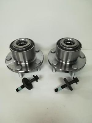 x2 FRONT WHEEL BEARING HUB + ABS FOR FORD FOCUS MK2, C-MAX, ST 1.4 1.6 1.8 2.0
