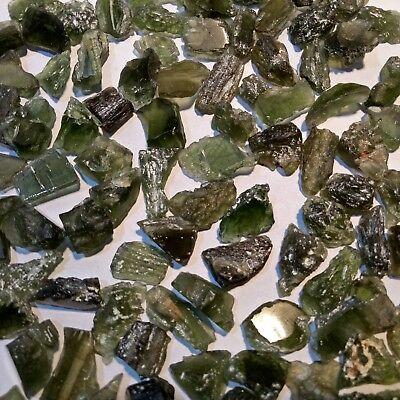 Moldavite Rough 100 % Natural Excellent Quality Superb Wholesale Lot Gem Video