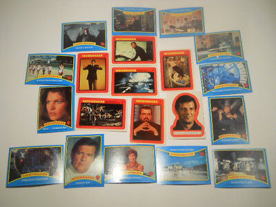 James Bond 007 , Tradingcards, diverse Einzelkarten