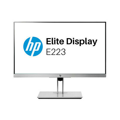 HP EliteDisplay E223 21.5-inch LED Monitor