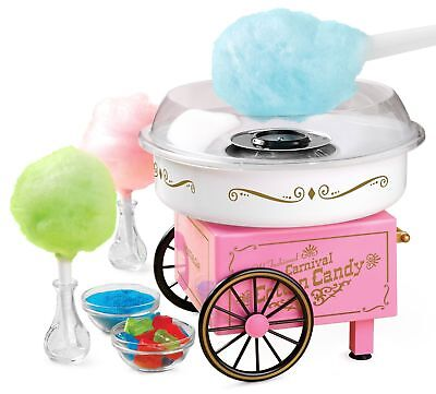 Commercial Electric Party Carnival Vintage Candy Sugar Pink Cotton Maker Machine