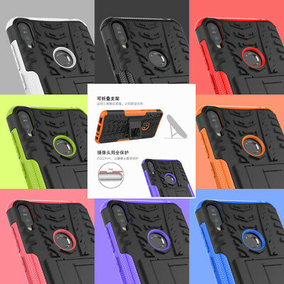For Asus Zenfone Phone Models Shockproof Hybrid Armor Rugged Stand Case Cover