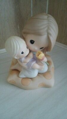 Precious Moments A Mother's Loving Touch Is A Gift From God dated 2007 EUC