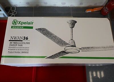 Xpelair nwan36 ceiling fan 220 240v 5060hz 90409aw 7600 xpelair nwan36 ceiling fan 220 240v 5060hz 90409aw aloadofball Image collections