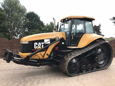 Caterpillar 55 Challenger Crawler Tractor With Front Linkage ( Reduced )