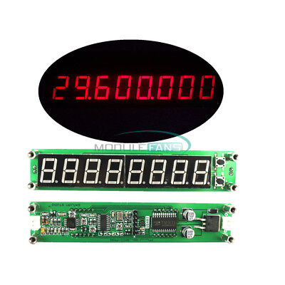 0.1-60MHz 20MHz ~ 2.4GHz RF LED Signal Frequency Counter Cymometer Red Tester