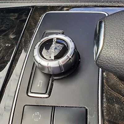 AMG Logo Mercedes Multimedia Control Knob Emblem Decal Sticker