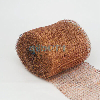 Any Lengths 100mm Width Copper Mesh For Distillation Brewing Pest Control