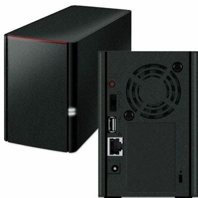 Buffalo LS220DE LinkStation 220 2-bay Personal Cloud Storage - HDD not included